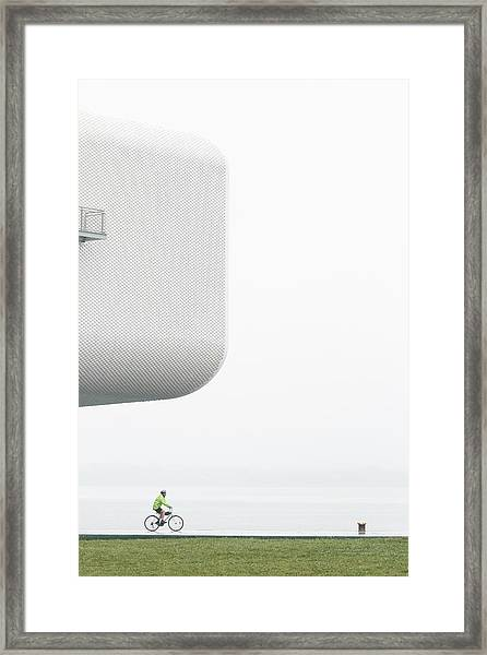 Promenade / Paseo Por La Costa Framed Print