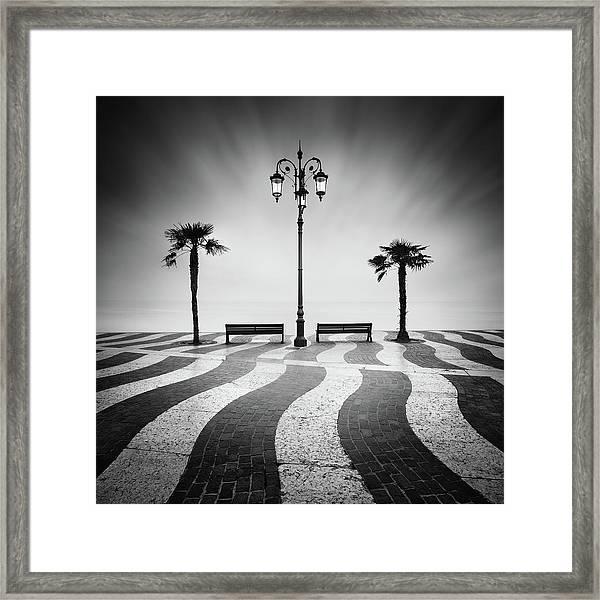 Promenade... Framed Print