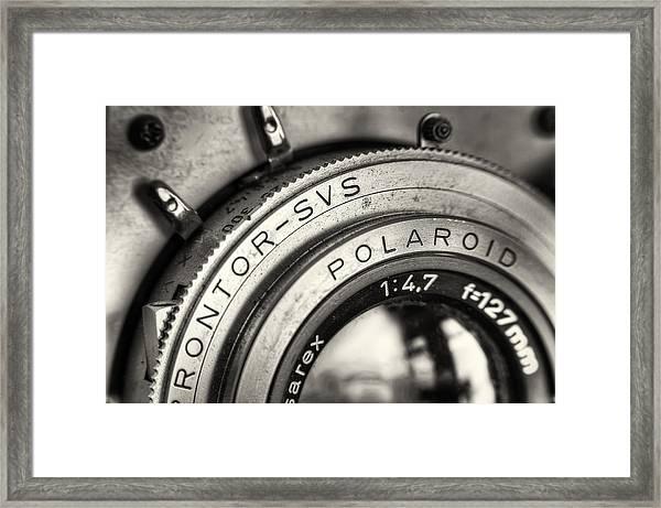 Prontor Svs Framed Print