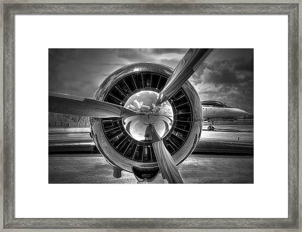 Props And Jet Framed Print