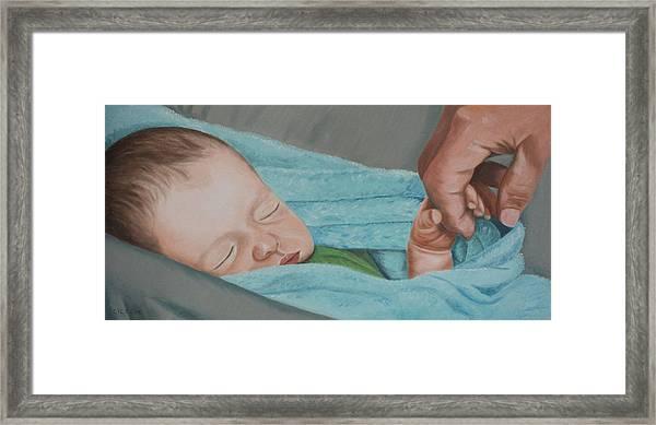 Psalm Four Eight Framed Print