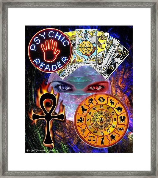 Psychic Reader Framed Print