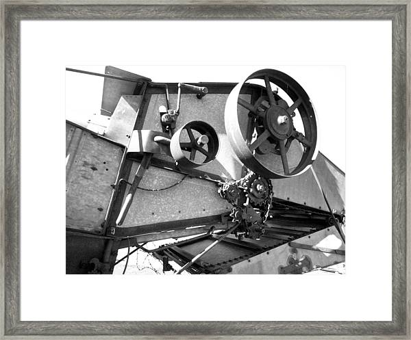 Pulley Framed Print