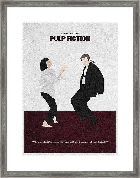 Pulp Fiction 2 Framed Print