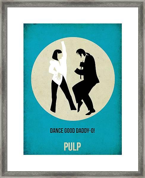 Pulp Fiction Poster 2 Framed Print