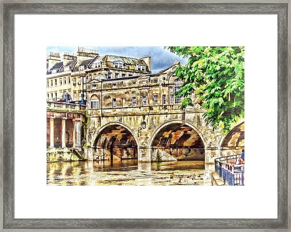 Pulteney Bridge Bath Framed Print