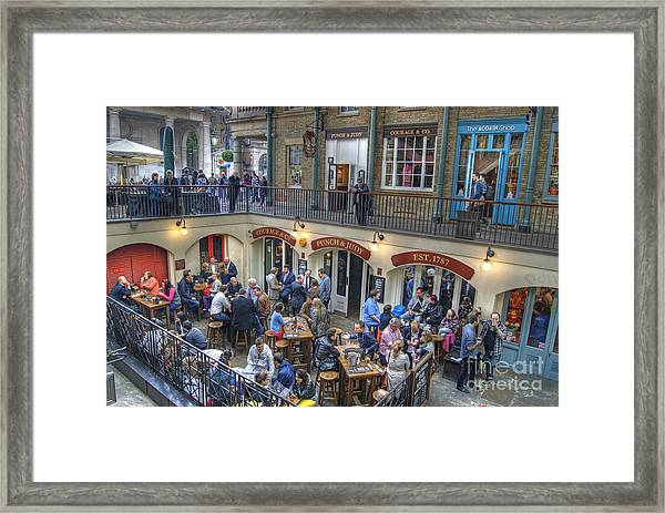 Punch And Judy Pub Framed Print