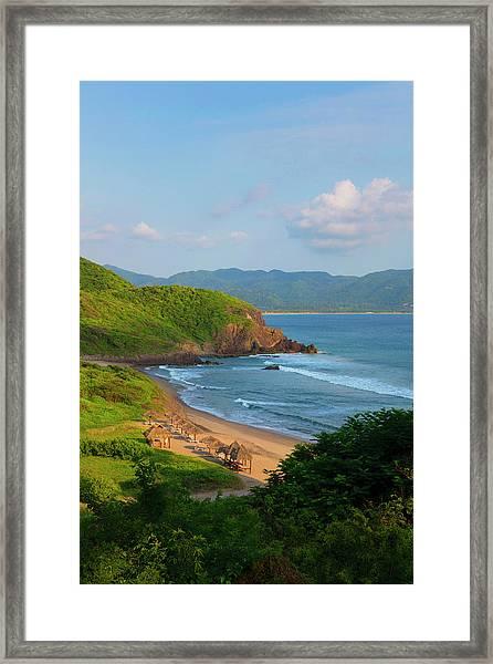 Punta Serena Villas And Spa Framed Print