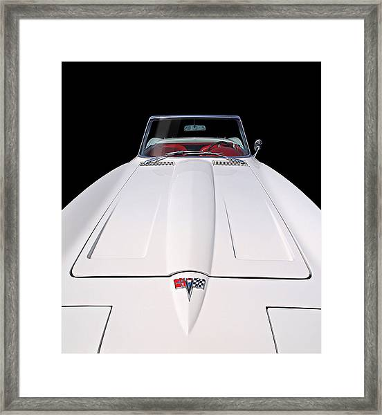 Pure Enjoyment - 1964 Corvette Stingray Framed Print