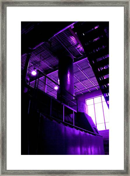 Purple Generator Framed Print
