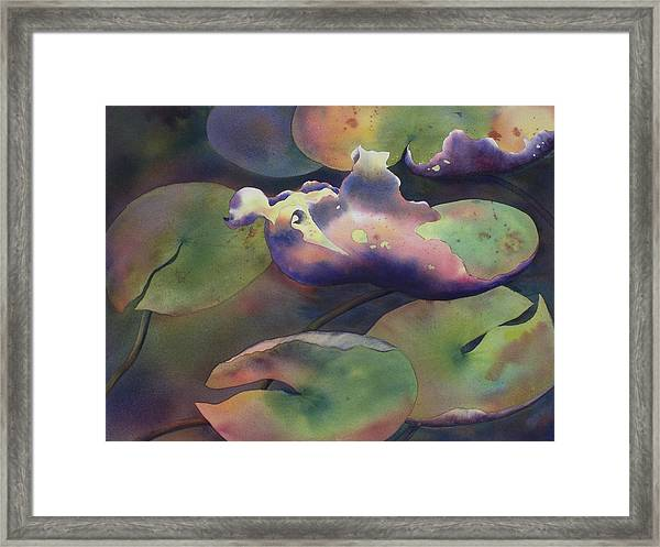 Purple Linings II Framed Print
