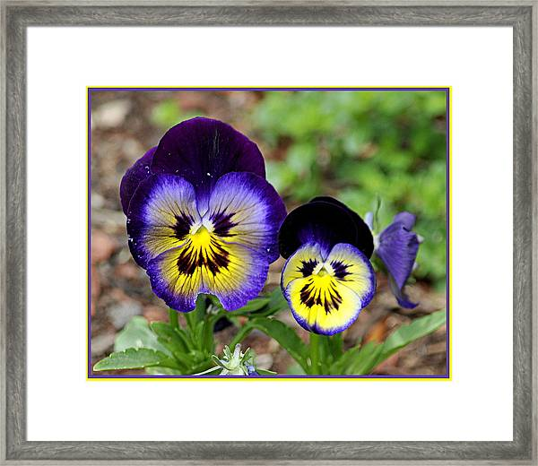 Put On A Happy Face Framed Print