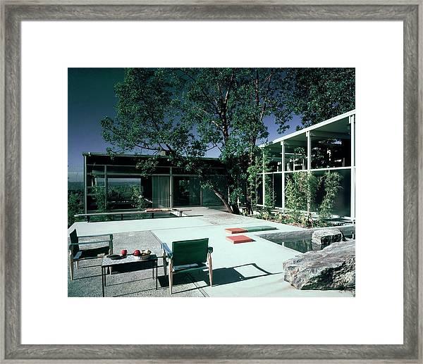 Putnam Home In Bellevue Framed Print