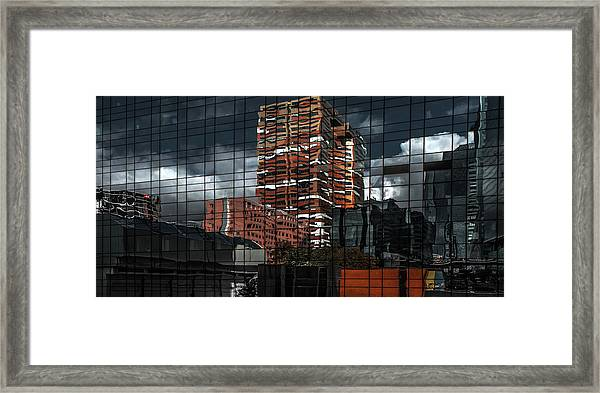 Puzzle Reflection Framed Print by Gilbert Claes