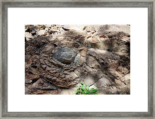 Pyroclastic Deposit Framed Print