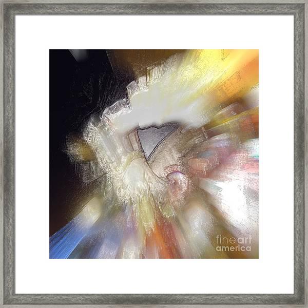 Quartz Framed Print