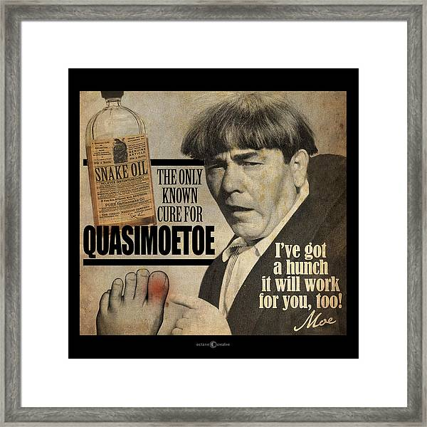 Quasimoetoe Poster Framed Print