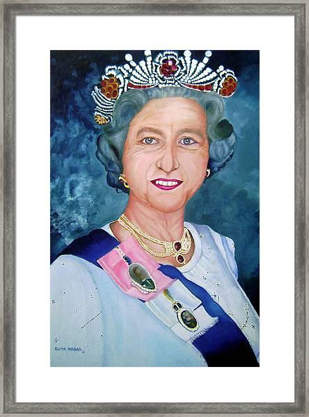 Queen Elizabeth Ii By Aliya Abbas
