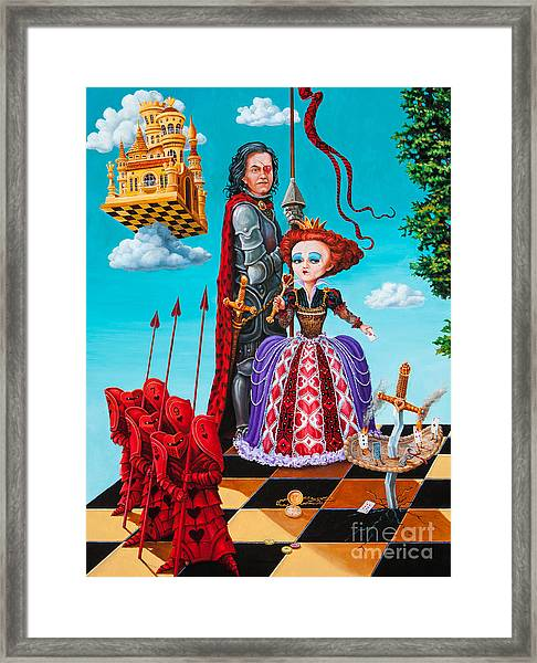 Queen Of Hearts. Part 1 Framed Print