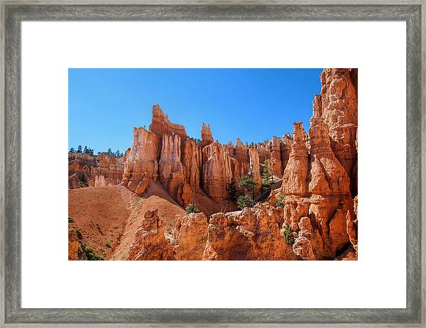 Queens Garden Window Framed Print