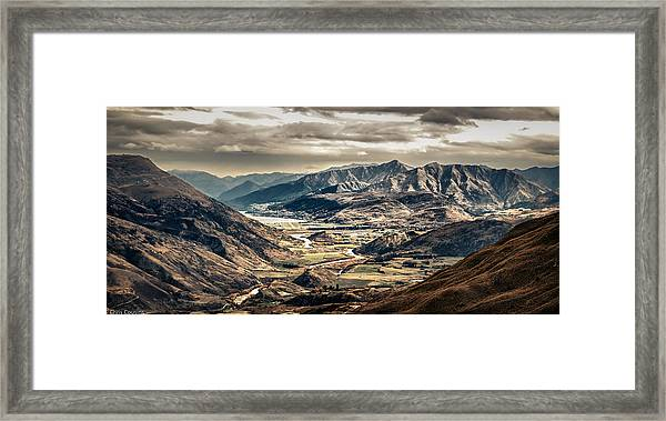 Queenstown View Framed Print