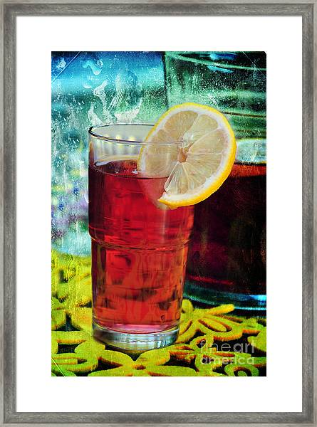 Quench My Thirst Framed Print