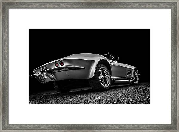 Quick Silver Framed Print