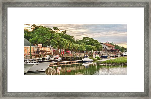 Quiet Morning At The Inlet II Framed Print