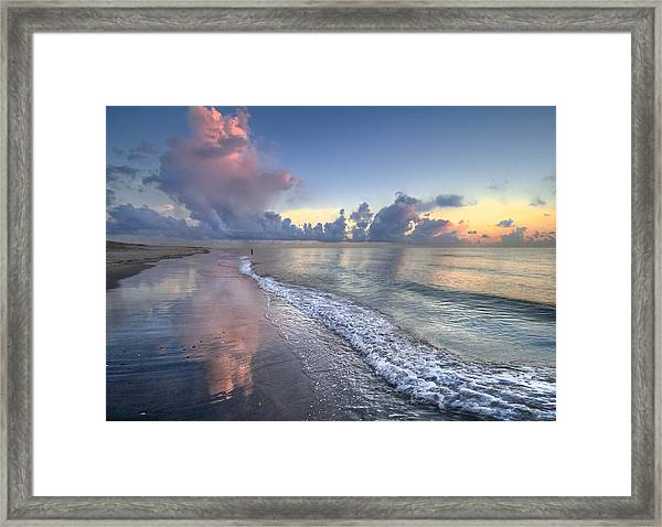Quiet Morning Framed Print