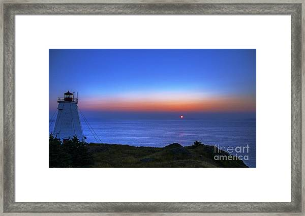 Quiet Morning.. Framed Print