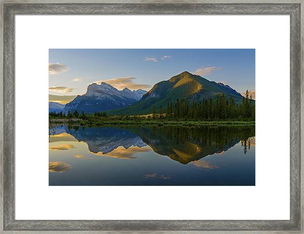 Quiet Summer Morning Framed Print by ??? / Austin