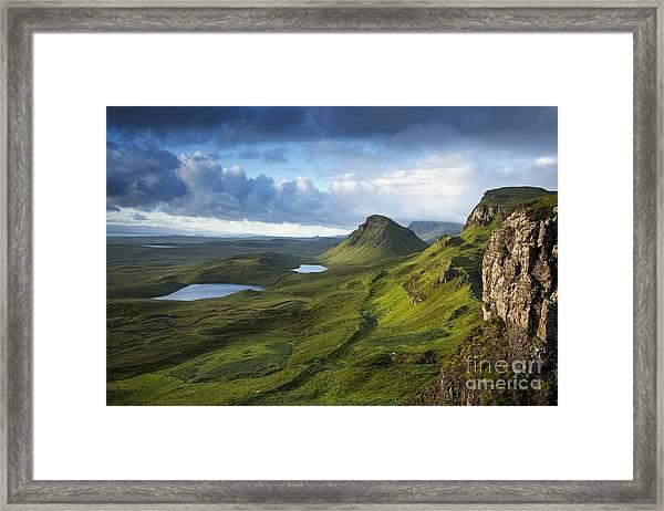 Quiraing Dawn Framed Print
