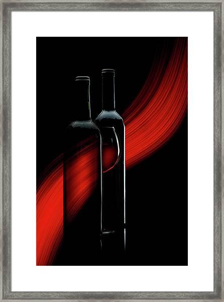 R. E. D. Framed Print by Doris Reindl