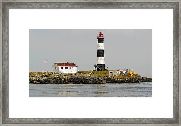 Race Rocks Lighthouse Ecological Preserve Framed Print