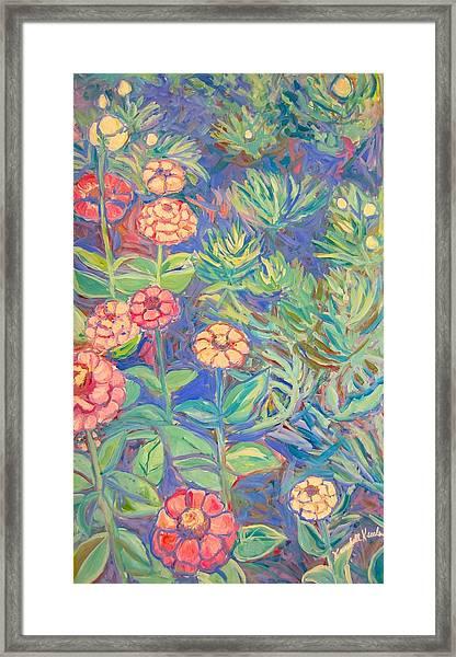 Radford Library Butterfly Garden Framed Print
