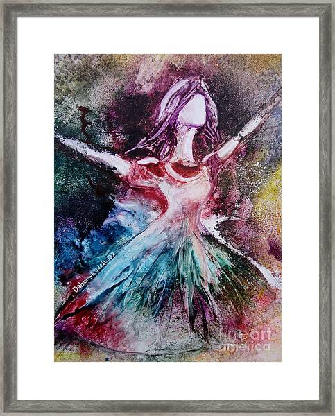 Radiant Bride Framed Print