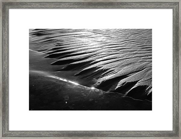 Radiant Erosion Framed Print by Jason Heckman