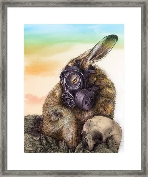 Radioactive - Color Framed Print