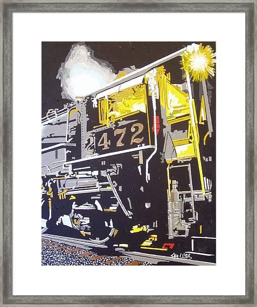Railroad Museum Framed Print by Paul Guyer