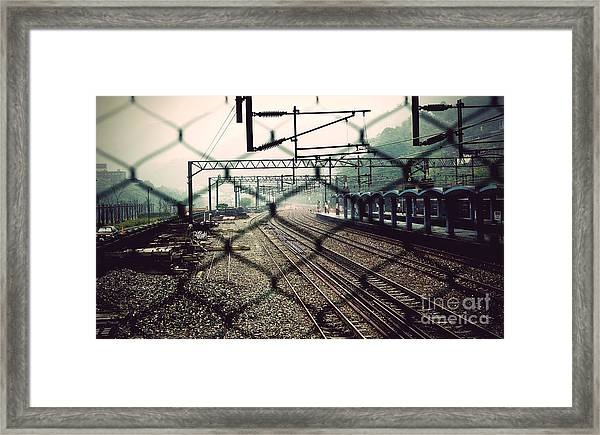 Railway Station Framed Print