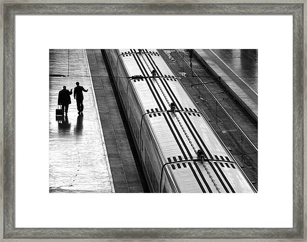 Railwaystation Framed Print