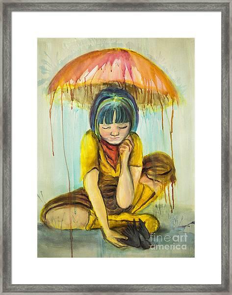 Rain Day  Framed Print