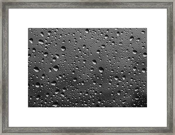 Rain Drops.... Framed Print