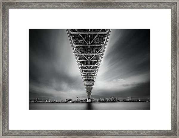 Rainbow Bridge Profile Framed Print