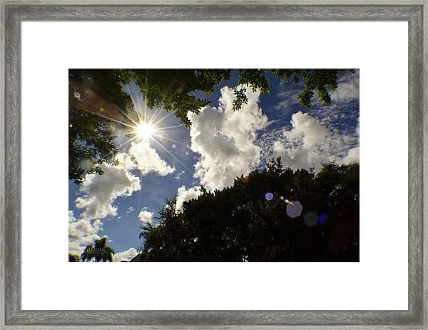 Rainbow Day Framed Print