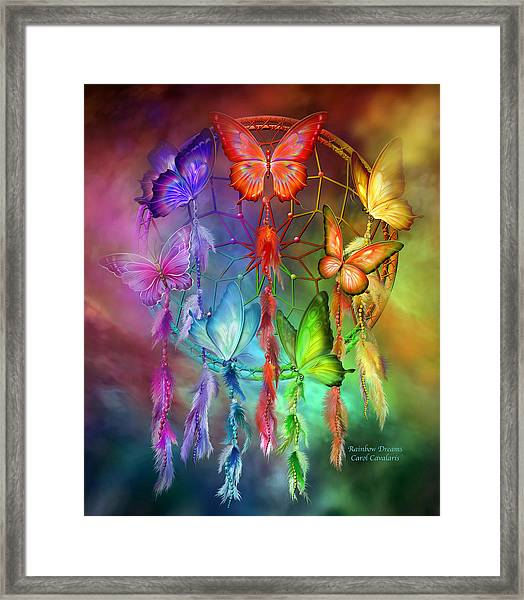 Rainbow Dreams Framed Print