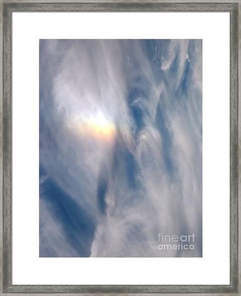Rainbow Blessings Framed Print