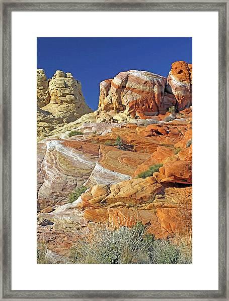 Rainbow Land Framed Print