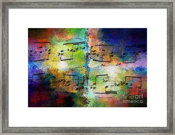 Rainbow Quad Framed Print