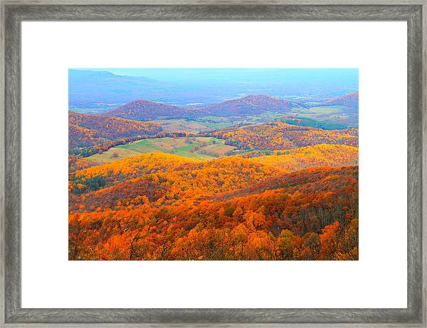 Framed Print featuring the photograph Rainbow Valley by Candice Trimble
